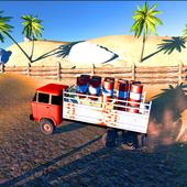 3D Truck Hill Climb Simulator icon