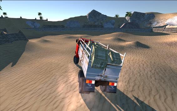 3D Truck Hill Climb Simulator apk screenshot