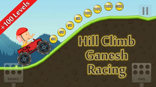 Hill Climb Ganesh Racing poster