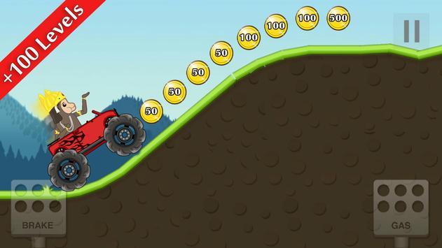 Hill Climb hanuman Racing apk screenshot