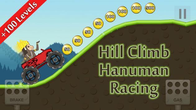 Hill Climb hanuman Racing poster