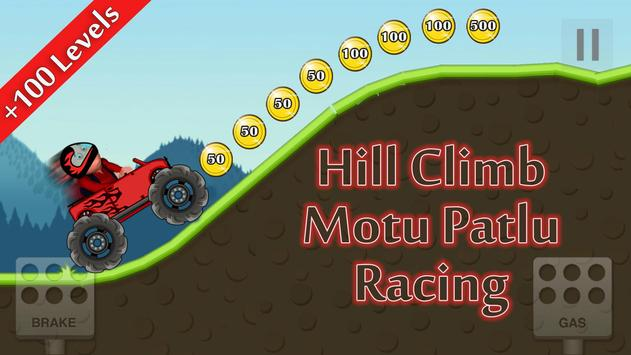Hill Climb Motu Patlu Racing screenshot 4