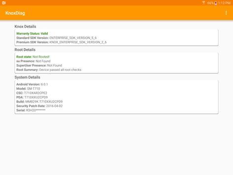 KnoxDiag apk screenshot