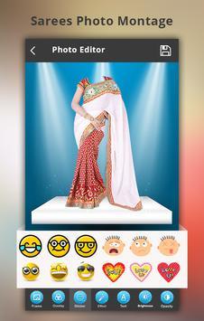 Saree Photo Montage apk screenshot