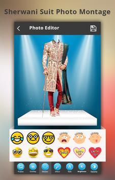 Sherwani Suit Photo Montage screenshot 2