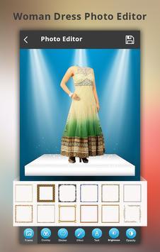 Woman Dress Photo Montage poster