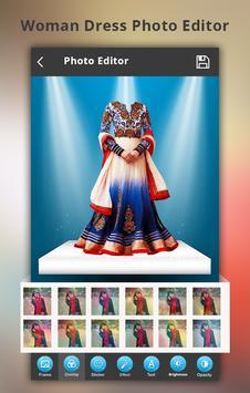 Woman Dress Photo Montage screenshot 1