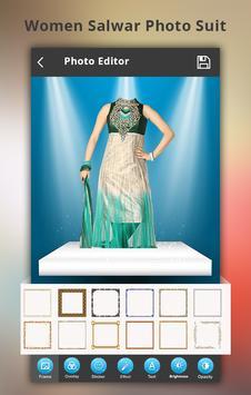 Woman Salwar Photo Suit poster
