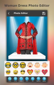 Woman Salwar Photo Suit screenshot 2