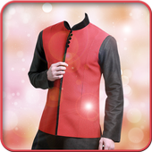 Jacket Men Photo Suit icon