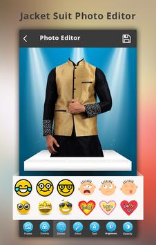 Jacket Men Photo Suit apk screenshot