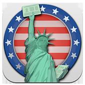 USA Green Card icon