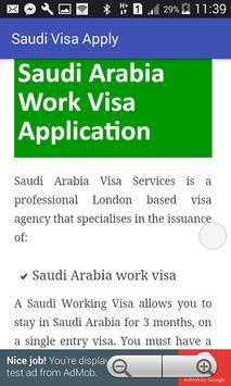 Saudi Visa Apply and Check apk screenshot