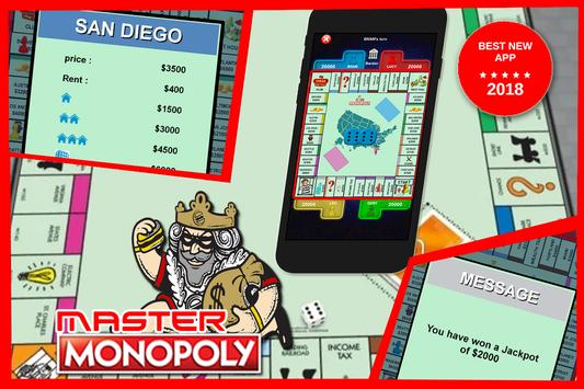 Master Monopoly poster