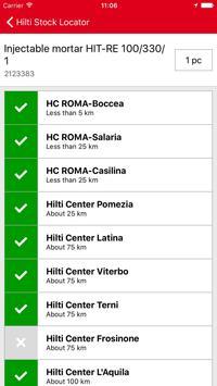 Hilti Stock Locator apk screenshot