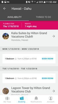 Hilton Grand Vacations apk screenshot