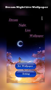 DreamNightLiveWallpaper screenshot 1