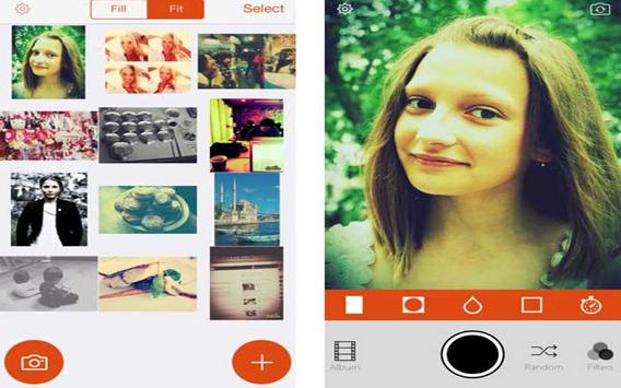 Editor for retrica apk screenshot