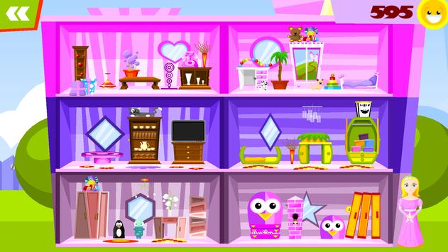 my doll house decorating games poster - House Decorating Games