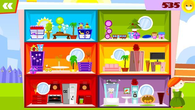 My Doll House Decorating Games Apk Screenshot