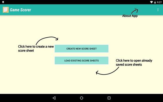 Game Scorer screenshot 6