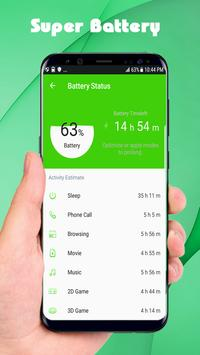 Super Battery Saver - Fast Charger screenshot 1