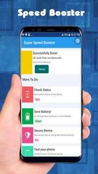Super Speed Booster screenshot 2