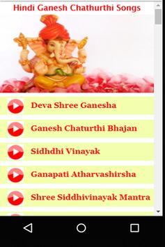 Hindi Ganesh Chathurthi Songs Videos apk screenshot