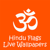 Hindu Flags Live Wallpapers icon