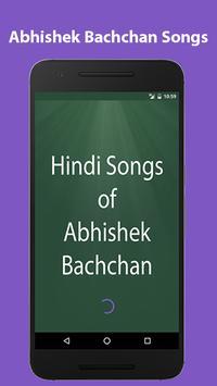 Hindi Songs of Abhishek Bachan poster