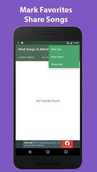 Hindi Songs of Abhishek Bachan apk screenshot