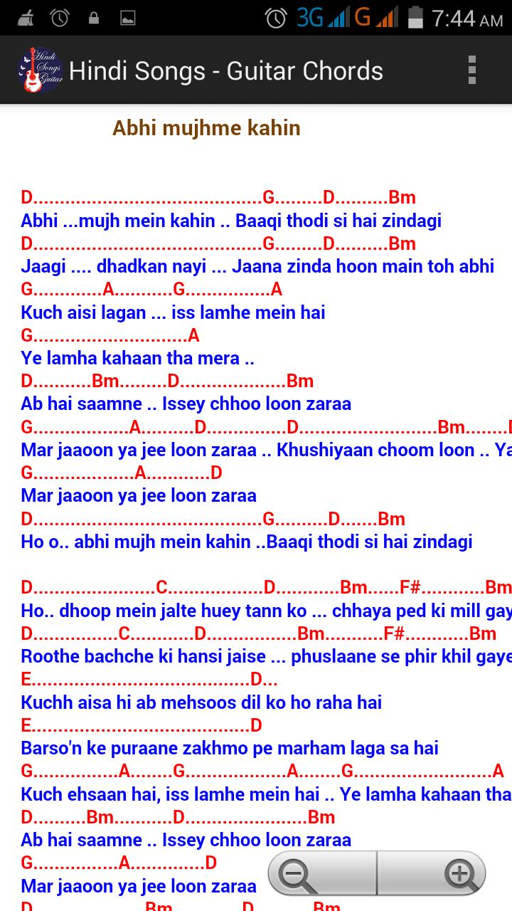 Hindi Songs Guitar Chords Free For Android Apk Download On the other hand, this hindi song will be very popular and very good for beginners. hindi songs guitar chords free for