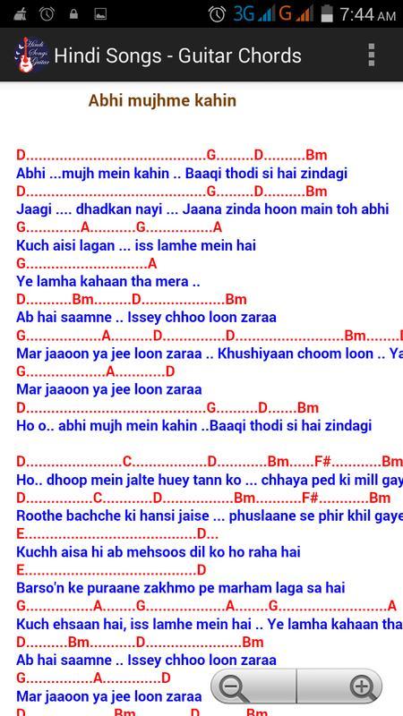 Hindi Songs Guitar Chords Free Apk Download Free Music Audio App
