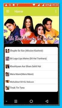 THE BEST HINDI / LAGU INDIA MP3 screenshot 1