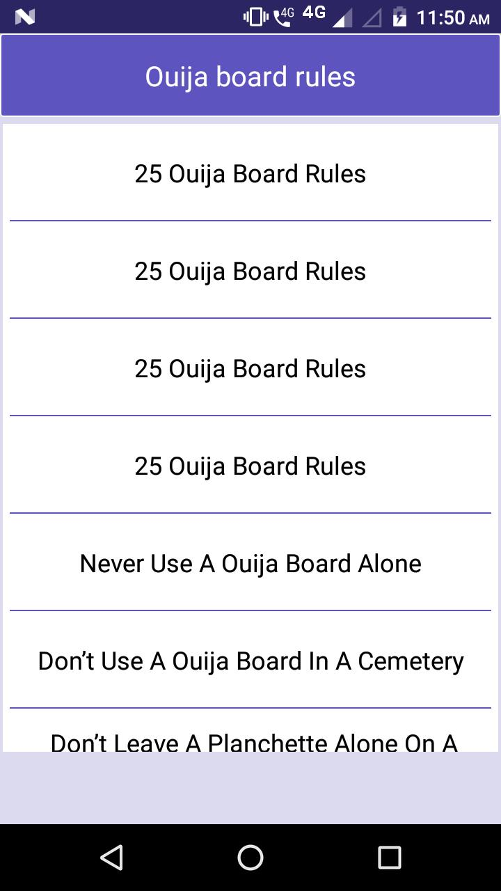 Ouija board rules for Android - APK Download
