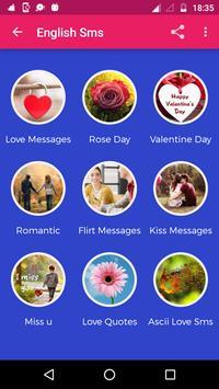 Love Sms screenshot 1