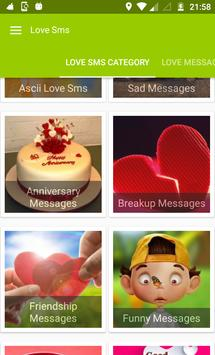 Love Messages 2020 : All Love Sms Collection screenshot 1