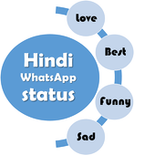 Hindi whatsapp status icon