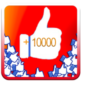 tips +1000 likes for Fb Liker icon