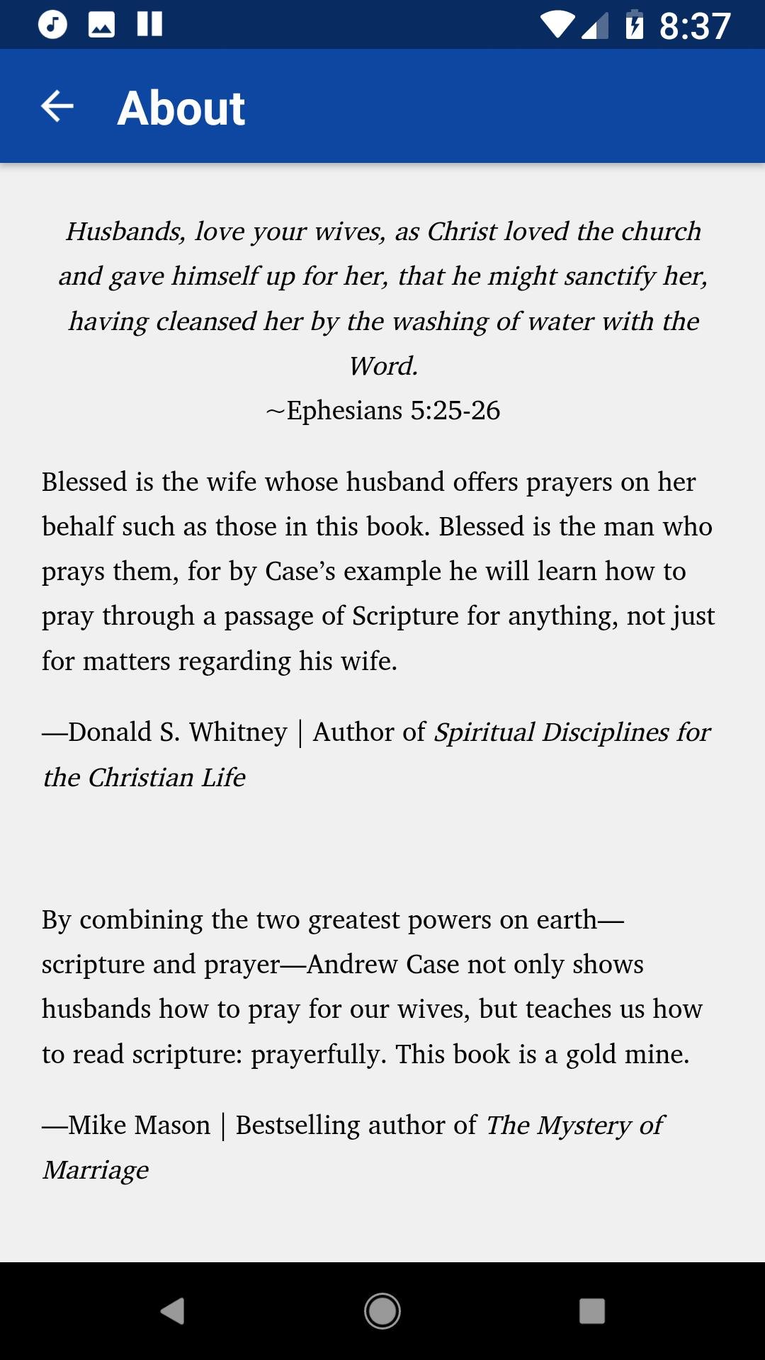 Prayers of a Godly Husband for Android - APK Download