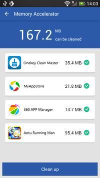 Onekey Clean Master apk screenshot
