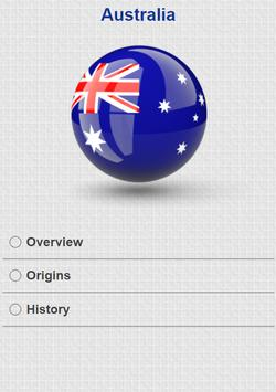 History of Australia apk screenshot