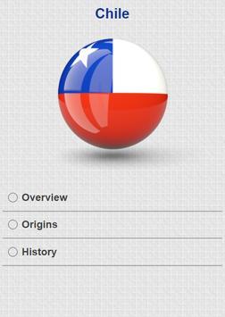 History of Chile apk screenshot