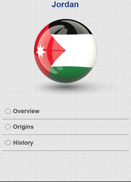 History of Jordan apk screenshot