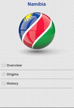 History of Namibia apk screenshot