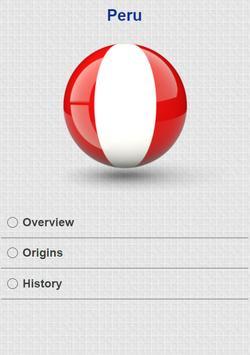 History of Peru apk screenshot