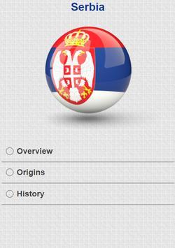 History of Serbia apk screenshot