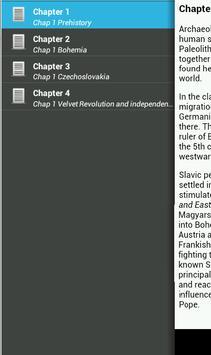 History of Czech Republic apk screenshot