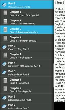 History of Dominican Republic apk screenshot