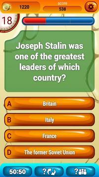 History Trivia Game screenshot 1